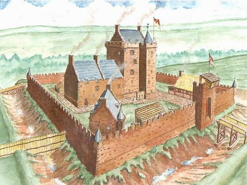 DALKEITH CASTLE Dalkeith Castle was located to the north east of Dalkeith, and…