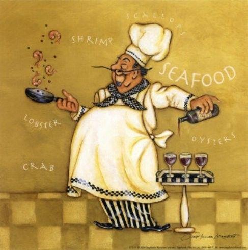 Art deco cuisiniers etc infirmiere et cuisinier for Cuisinier humoristique