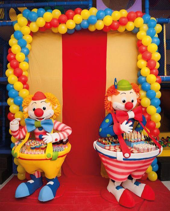 Divertidas ideas para fiestas de circo decoraciones para - Ideas divertidas para fiestas ...