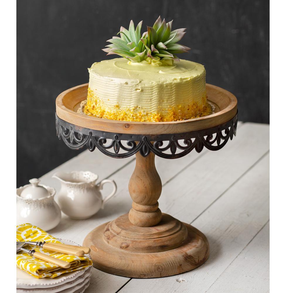 tall cake stand plinth