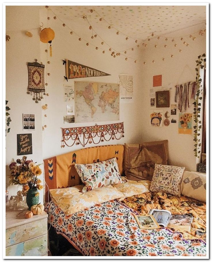 40 amazing college dorm room decor ideas and remodel 33 Check more at https://roomdecor.fened...