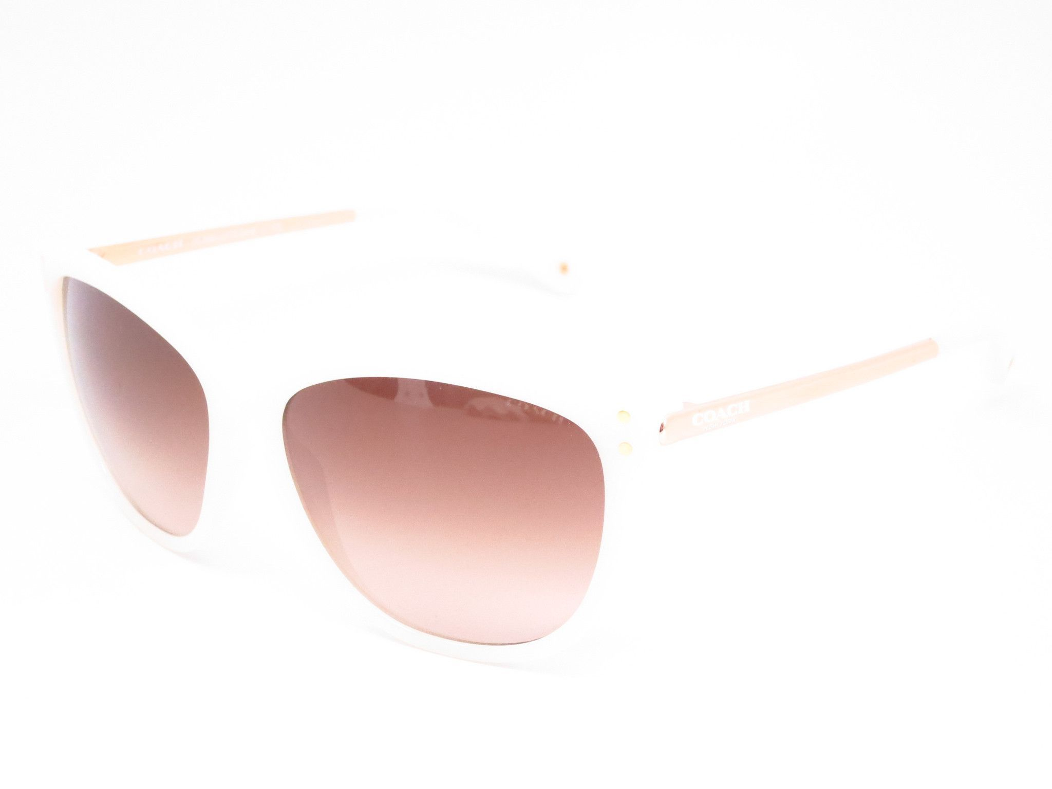 81d7a70b68423 ... low price coach hc 8084 celia 5181 13 milky white gold sunglasses c159f  67a91