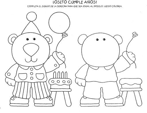 Dibujos Para Completar Para Ninos Preescolar Smart Kids Kindergarden Preschool Education