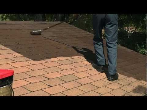 Spray Techniques How Painting Roof Shingles- How to Painting