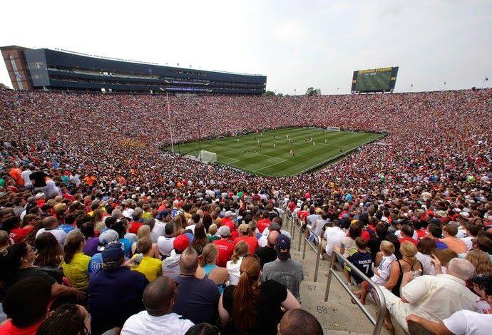 Blog Esportivo do Suíço: Em partida histórica diante de 109 mil pessoas, United vence o Real Madrid