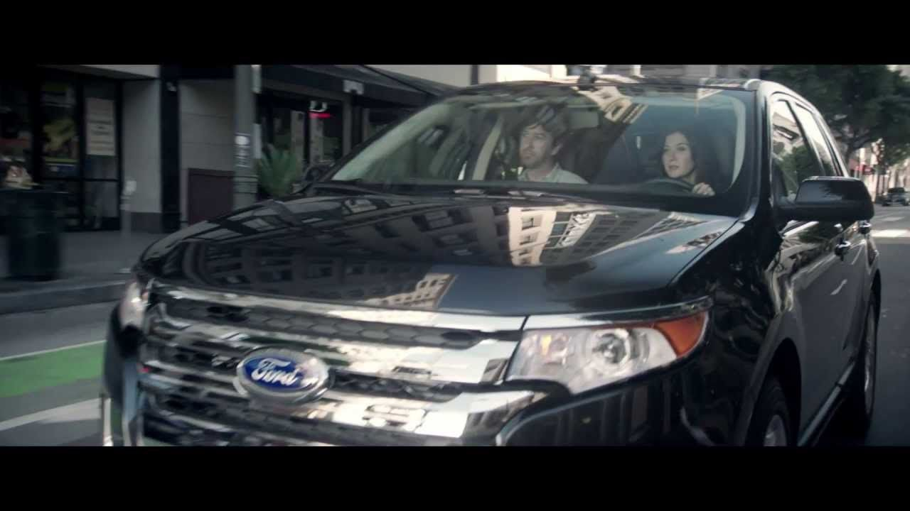 In This Ford Edge Commercial A Couple Driving In An Edge Wonder What It Would Be Like If Police Officers Protected Or Served Their Communities