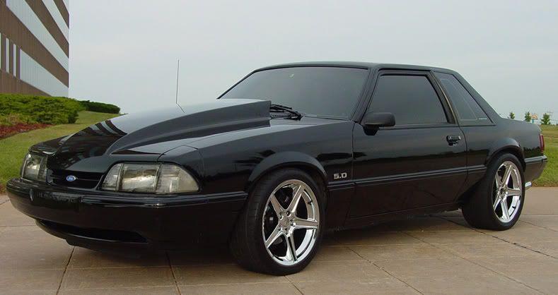 Fox Body Wheel Pics 1993 Ford Mustang Fox Body Mustang Notchback Mustang