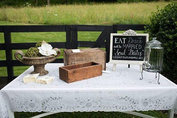 Custom Wedding Signs Bar Chalkboard by MySteelMagnolia on Etsy
