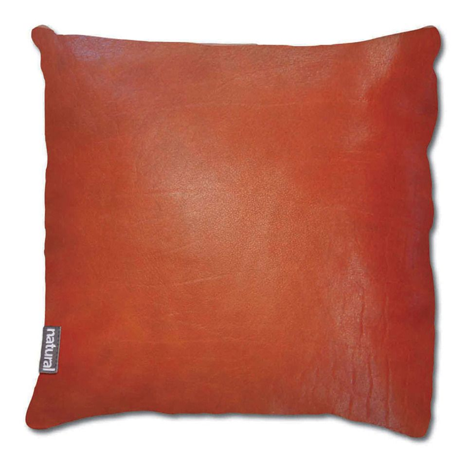 Best Natural Leather Pillow In Burnt Orange Beyond The Rack 400 x 300