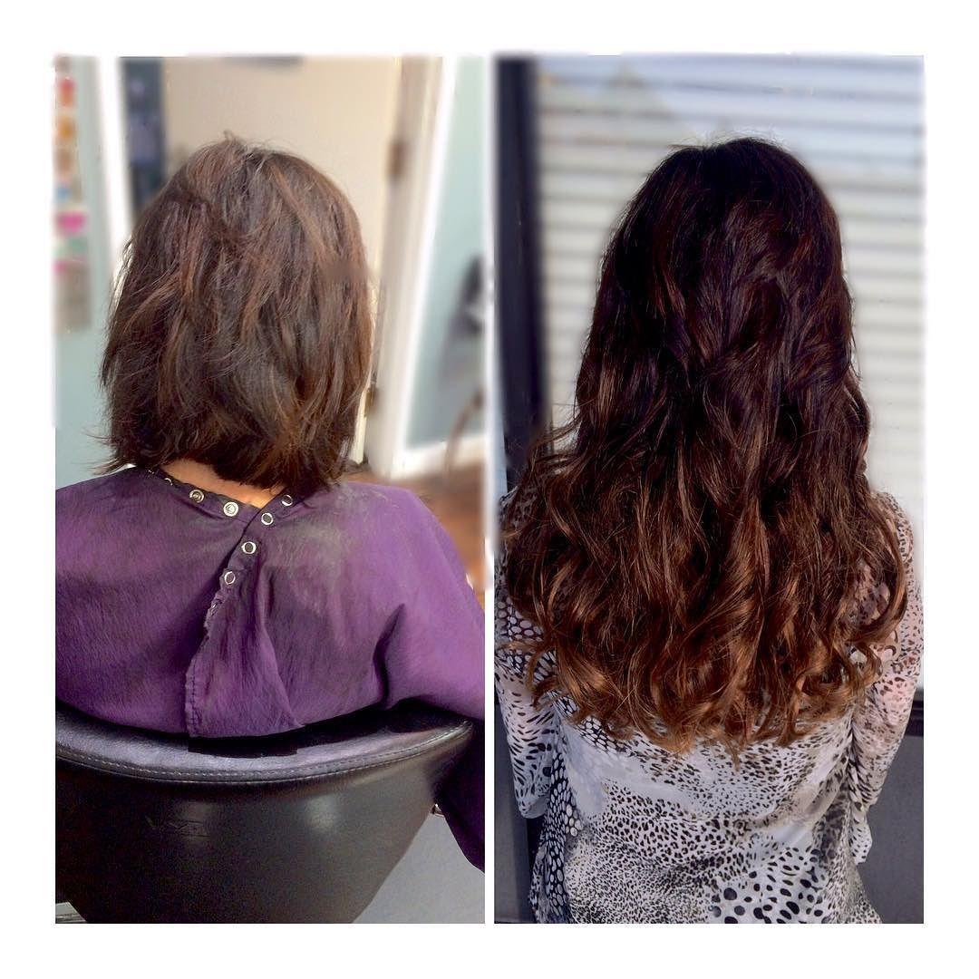 Balayage Dark Browncopper Red Hair Transformation Balayage And