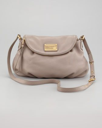 Classic Q Natasha Crossbody Bag Gray By Marc Jacobs At Bergdorf Goodman 368 00