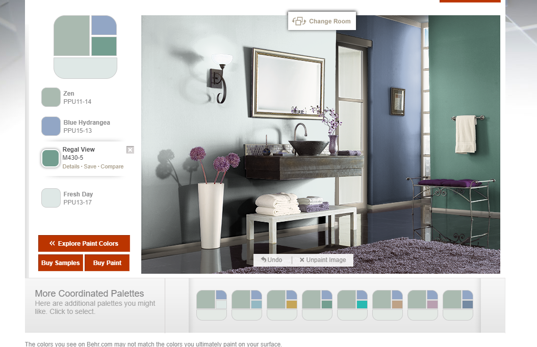 zen is the front entrance color it would be nice to have on behr paint visualizer id=34174