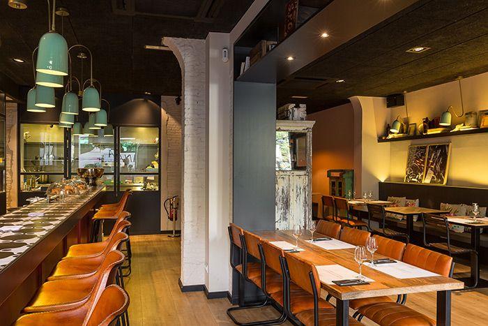 Fotos mesas sillas taburetes mobiliario para bares restaurantes vintage pop art bar - Mobiliario pop art ...