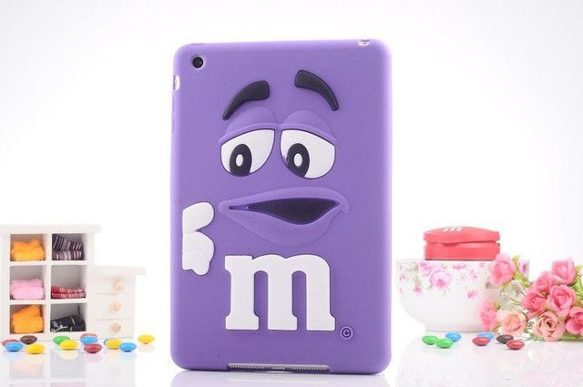 kids shockproof cover soft silicone m m chocolate case for ipad mini rh pinterest co uk