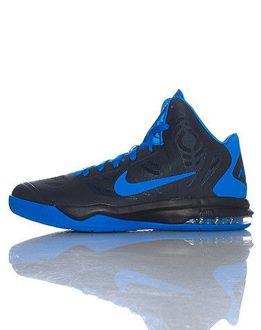 a61570a6 NIKE MENS AIR MAX HYPERAGGRESSOR SNEAKER Blue | High Top Sneakers in ...