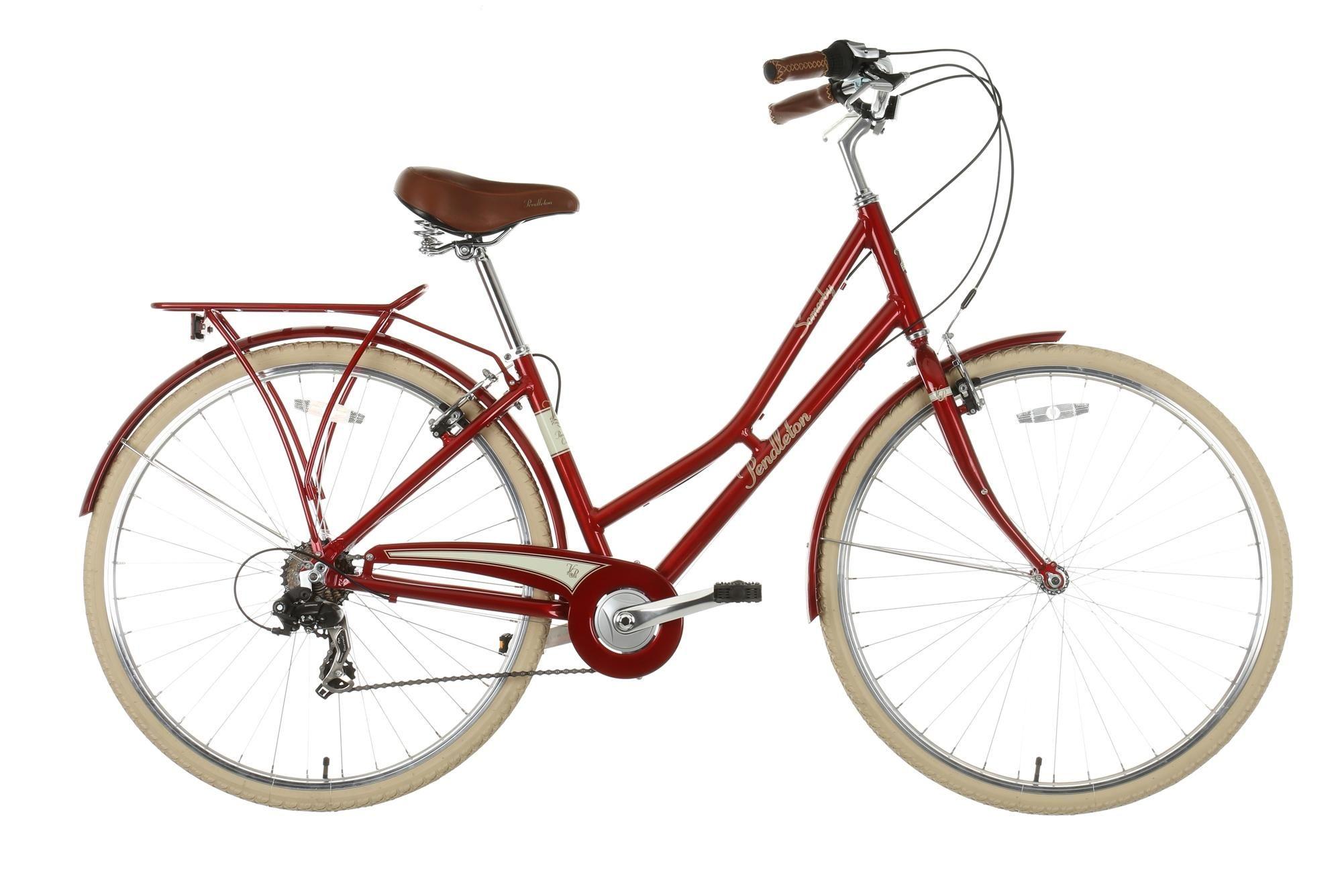 Pendleton Somerby Hybrid Bike Red Hybrid Bike Urban Bike