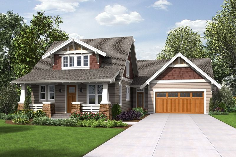 Cottage Style House Plan - 3 Beds 2.5 Baths 2256 Sq/Ft Plan #48