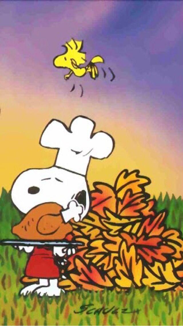 iPhone Wallpaper Thanksgiving tjn Charlie brown