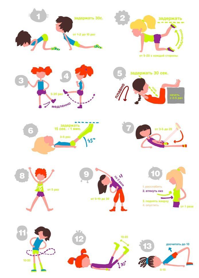 Утренние зарядки для девушек чтобы похудеть