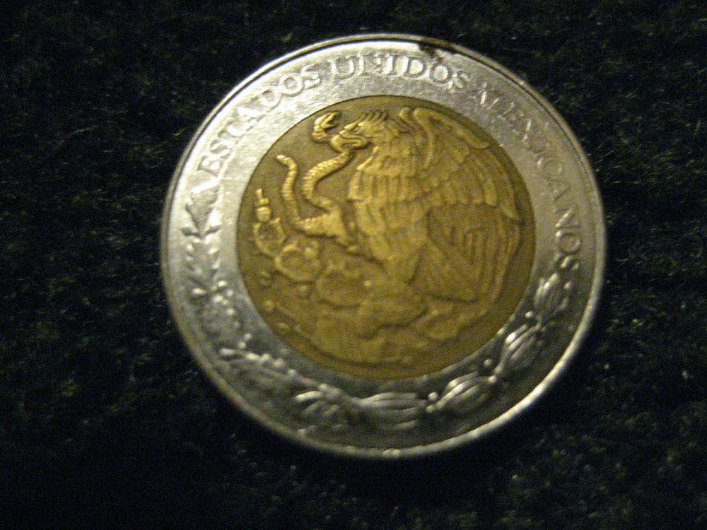 1 Mexico Coin Estados Unidos Mexicanos
