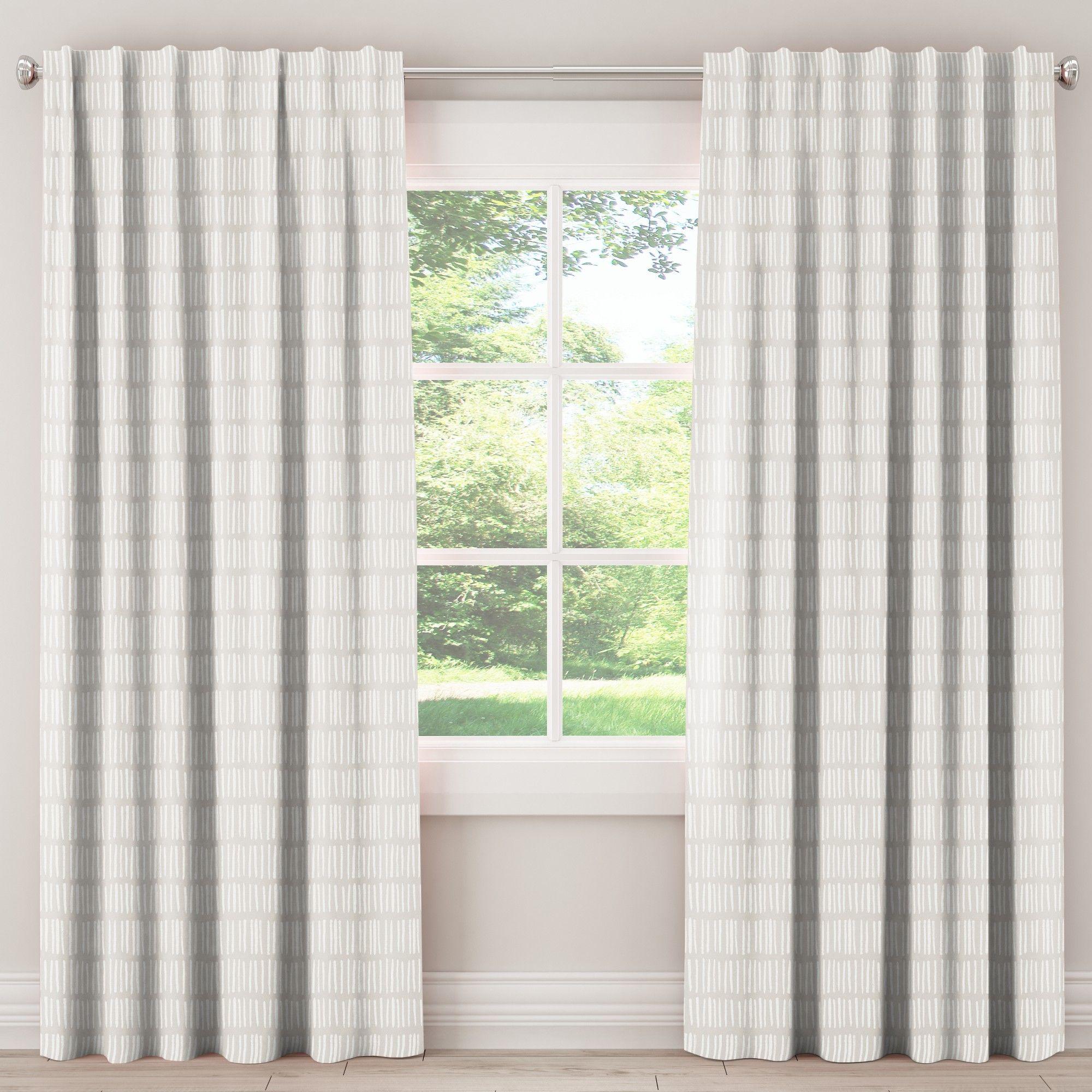 unlined dash curtain panel white 50 x108 skyline furniture in rh pinterest com
