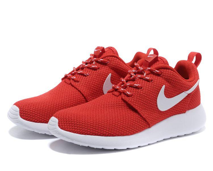 Royaume-Uni disponibilité 00e74 c4f03 Nike Roshe Run Femme Chaussure ponceau blanche prix spécial ...