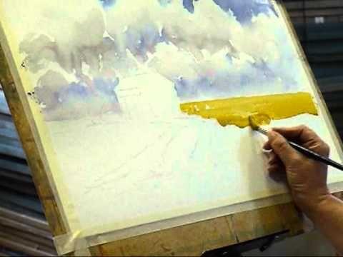 Comment Peindre L Eau Les Reflets A L Aquarelle Youtube In 2020
