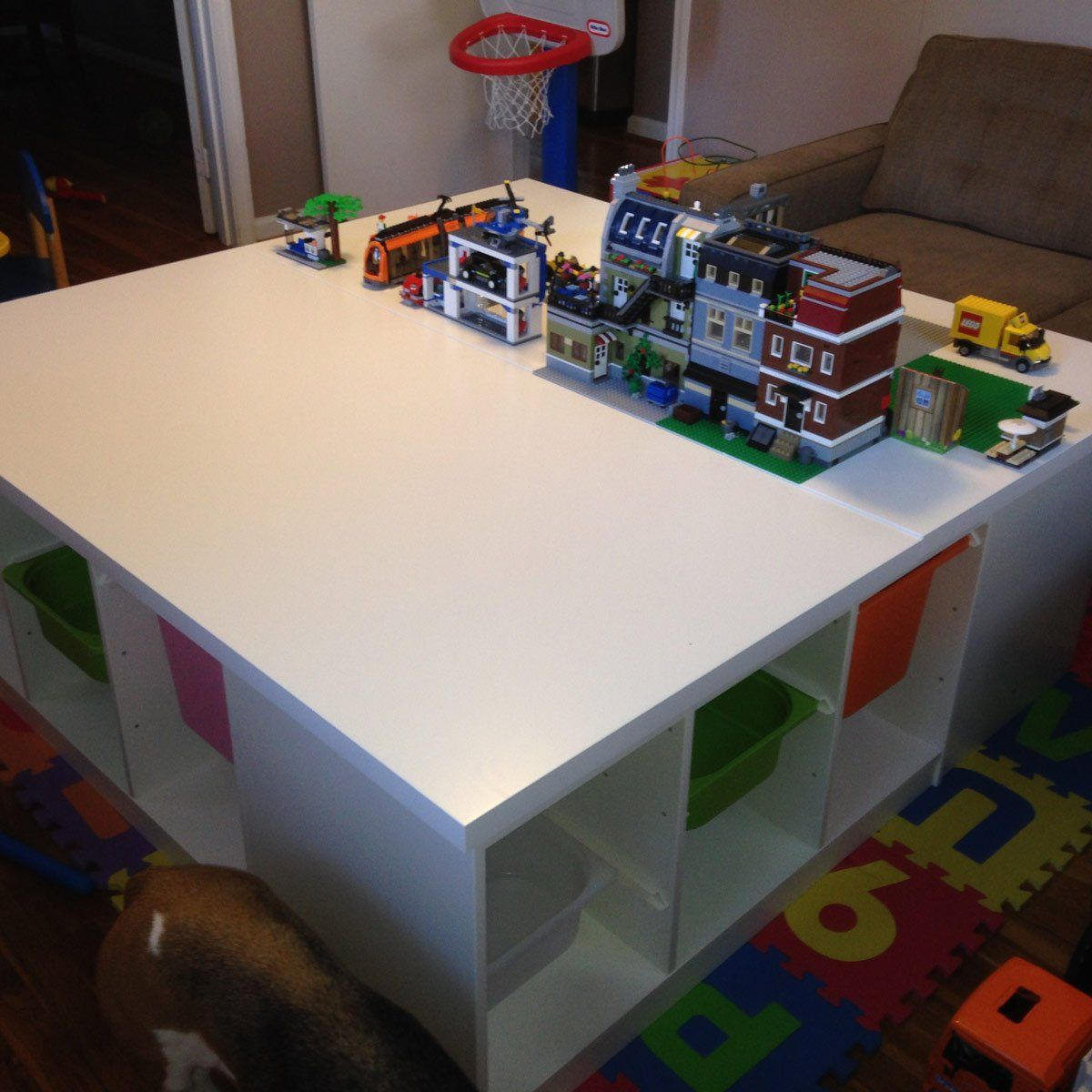 Top 10 Lego Tables You Ve Got To See Lego Table Lego Table With Storage Lego Room