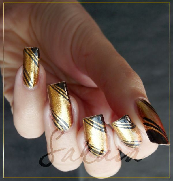 ORLY GLITZ AND GLAMOUR DECO 3 #nails