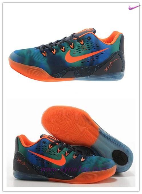757c3913aad29 Nike Kobe IX 74194-006 Blu Arancione scarpe decathlon
