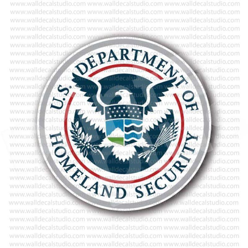 us department of homeland security sticker departments stickers rh pinterest com
