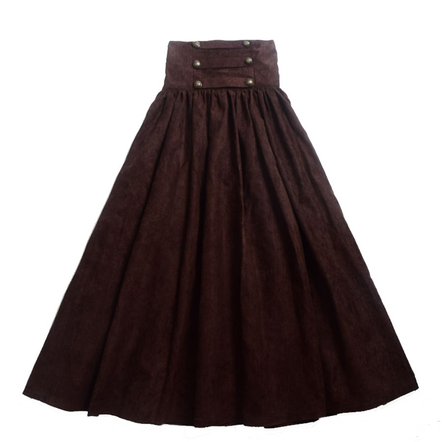 6416879a3e865 Aliexpress.com: Acheter Vintage Steampunk Jupe Victorienne Gothique ...