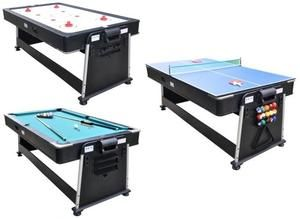 3 In 1 Table Air Hockey Ping Pong Pool Table Outdoor Pool