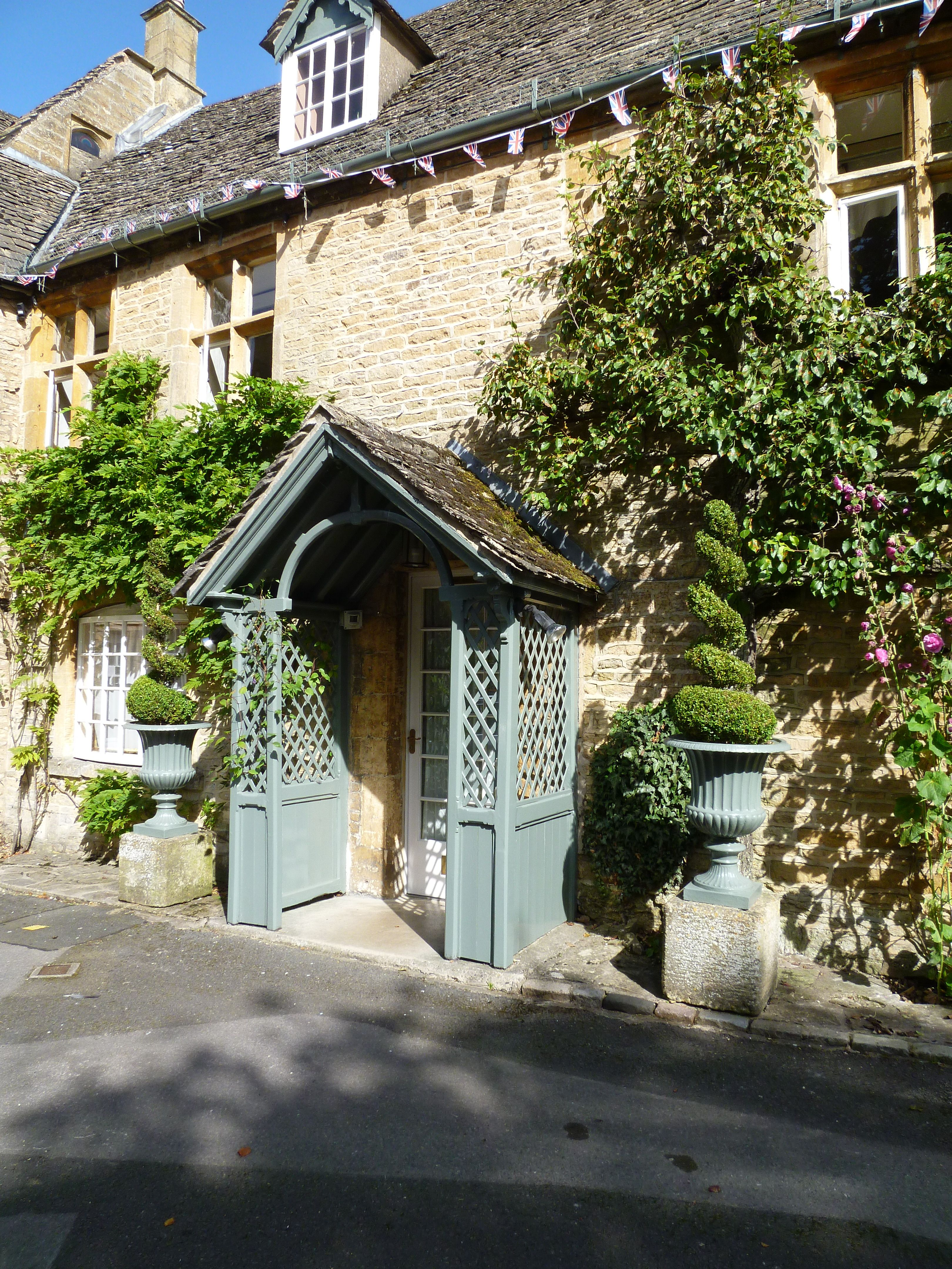 Stow on the Wold porch Stow on