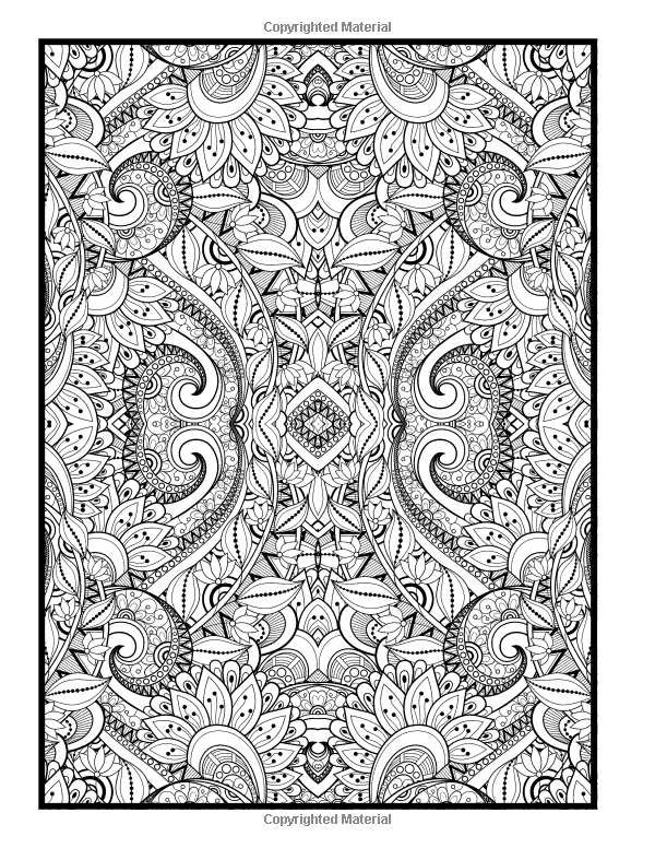 Advanced Coloring Designs: Coloring Book for Adults: Holly White ...