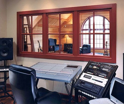 how to design a basic recording studio in your basement record rh pinterest com