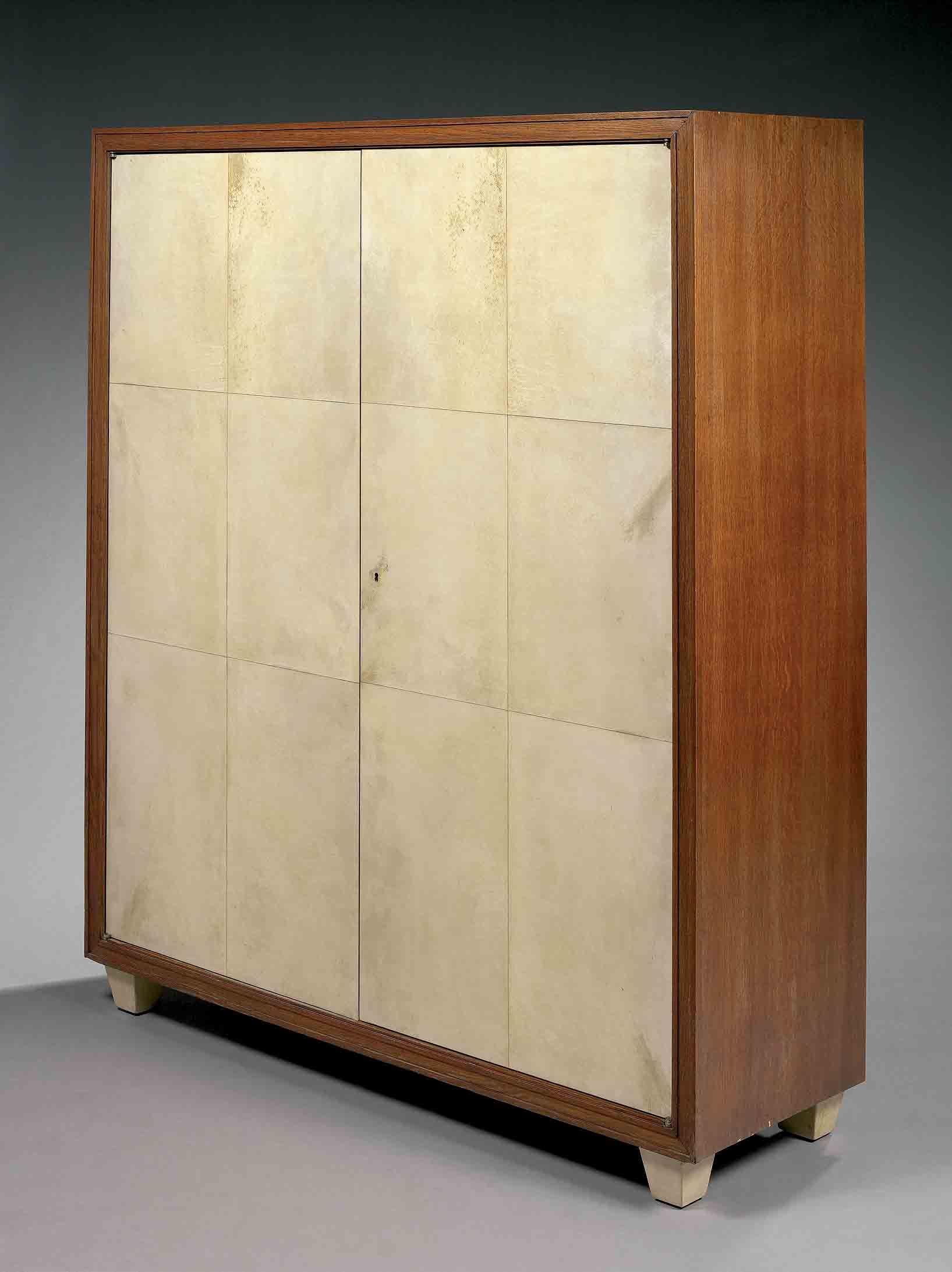 Jean-Michel Frank (1895-1941) & Adolphe Chanaux (1887-1965) armoire ...