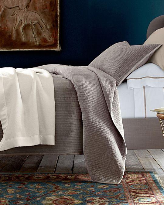 Luxe Velvet Quilt and Sham. GH. similar to dream quilt but velvet ... : garnet hill dream quilt - Adamdwight.com
