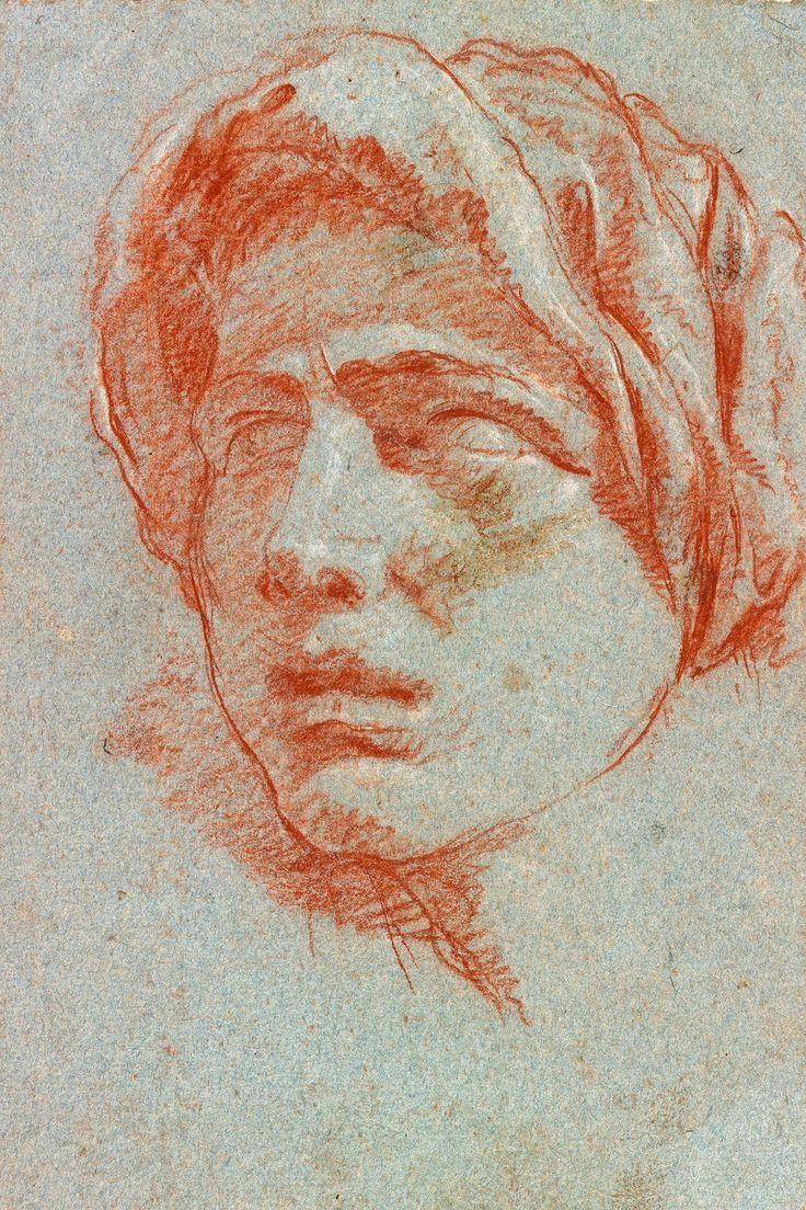 Imagini pentru andrea del sarto study head of the magdalene