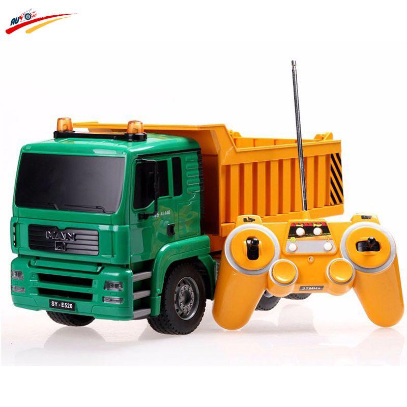 pas cher rc camion 8 canal benne camion t l commande camion dumper haute simulation rc projet. Black Bedroom Furniture Sets. Home Design Ideas