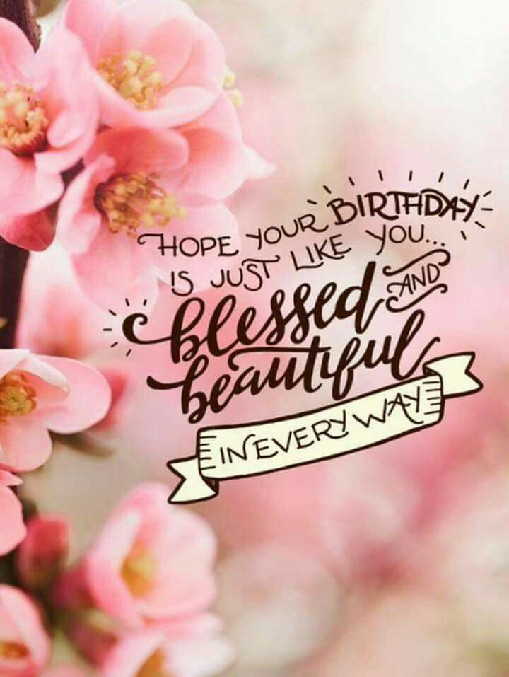 blessed and beautiful happy birthday