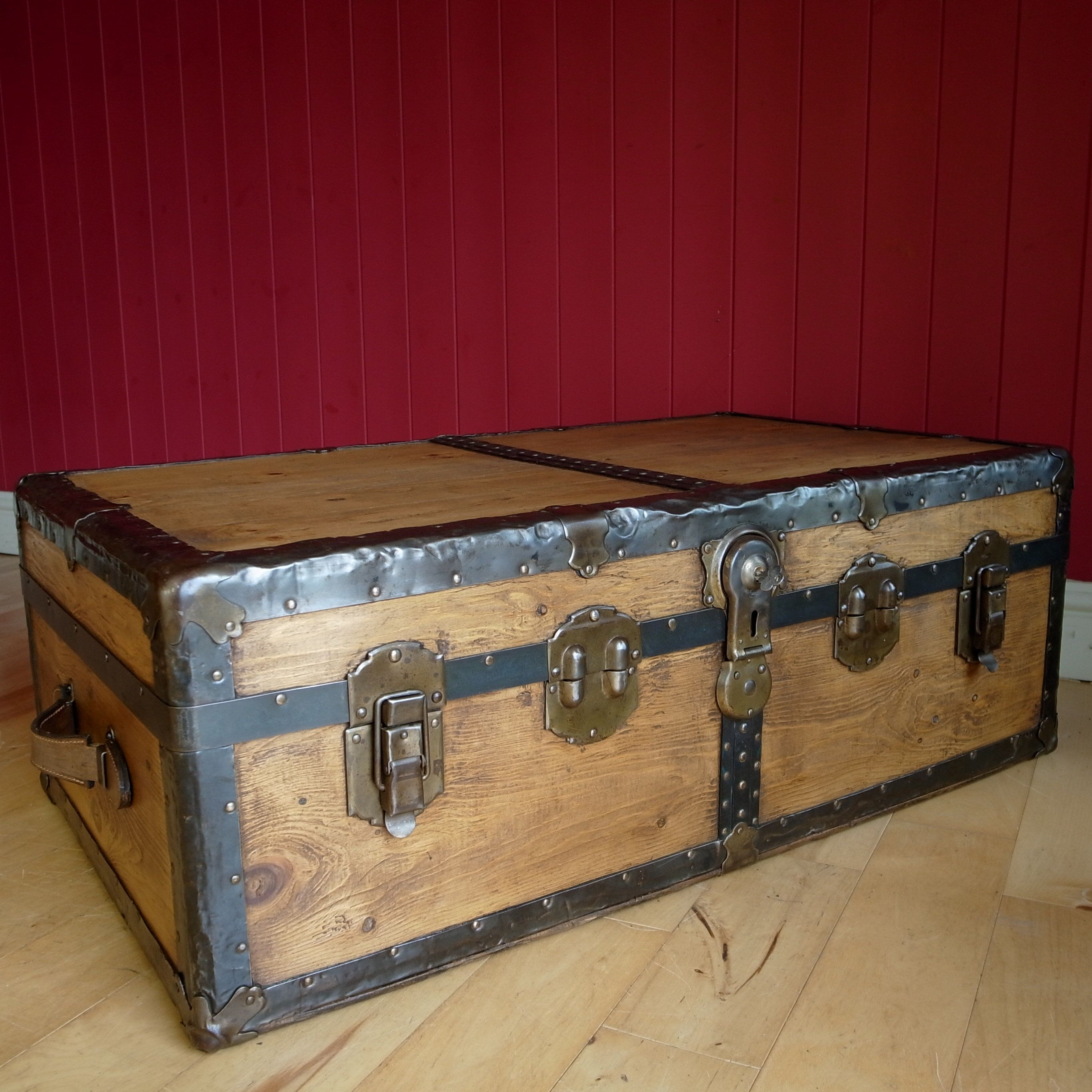 Steamer Trunk Coffee Table With Drawers Collection New Stock This Week At 9 E Coffee Table Trunk Steamer Trunk Coffee Table Coffee Table With Drawers