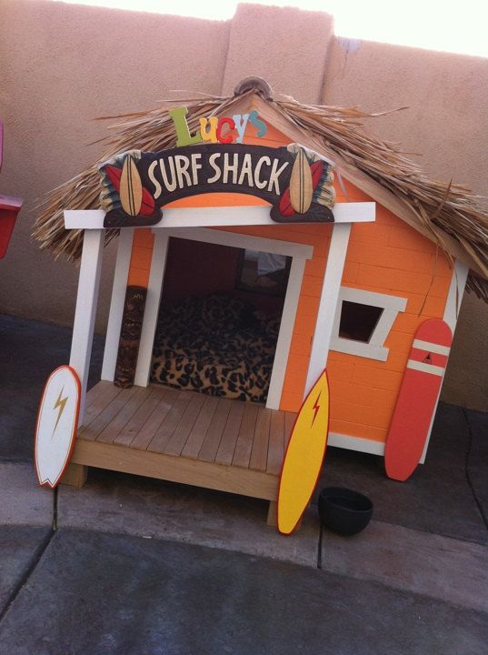 Doghouse Surf Shack For All Those Cool Dudes Surf Shack Dog