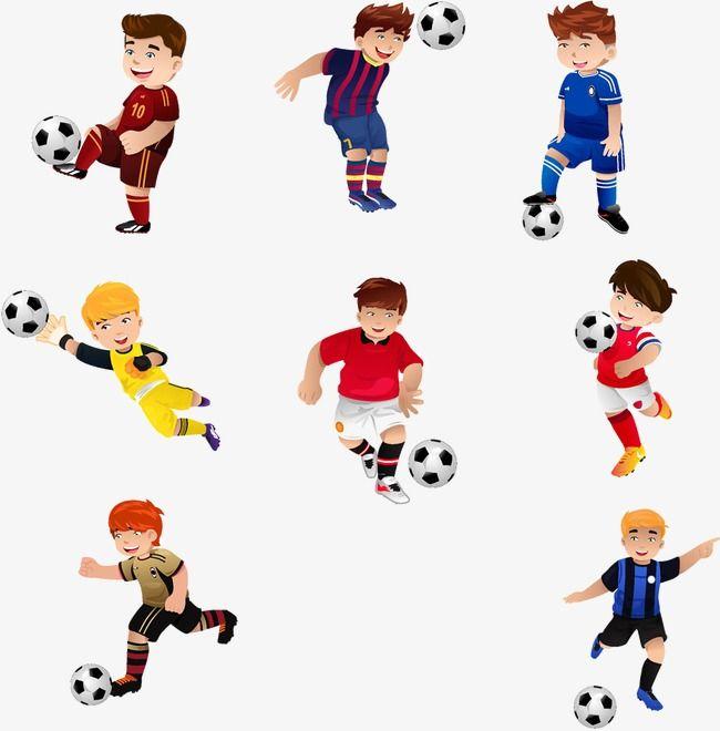 كارتون طفل لاعب كرة قدم صورة الكرتون رسوم متحركة كرة القدم المرسومة كرتون Png وملف Psd للتحميل مجانا Meninas Jogando Futebol Futebol Infantil Futebol Cartoon