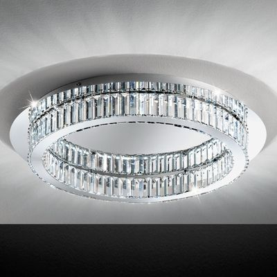 Circular ceiling light..great for low ceilings