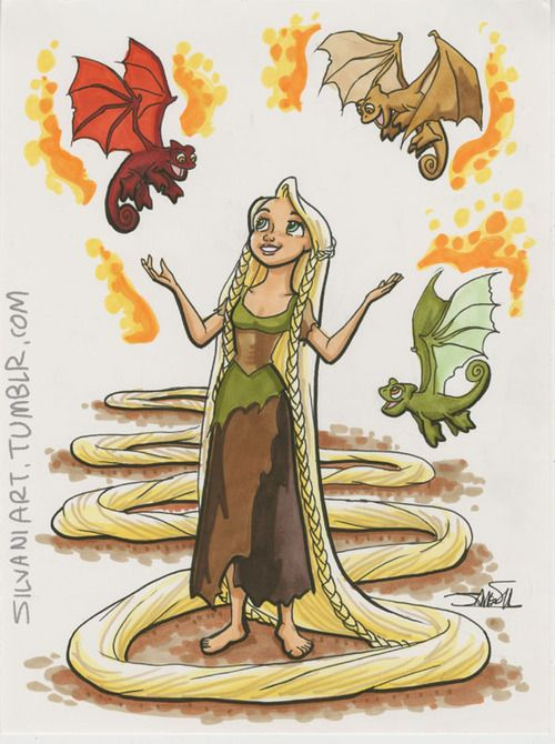 When will my lifeTargaryen Wondercon  C2E2 commission preorders are open. Details arehere.