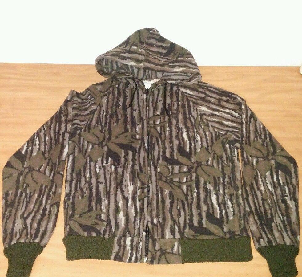walls camo camoflauge zip up hoodie youth sz 14 16 polar on walls hunting coveralls id=67945