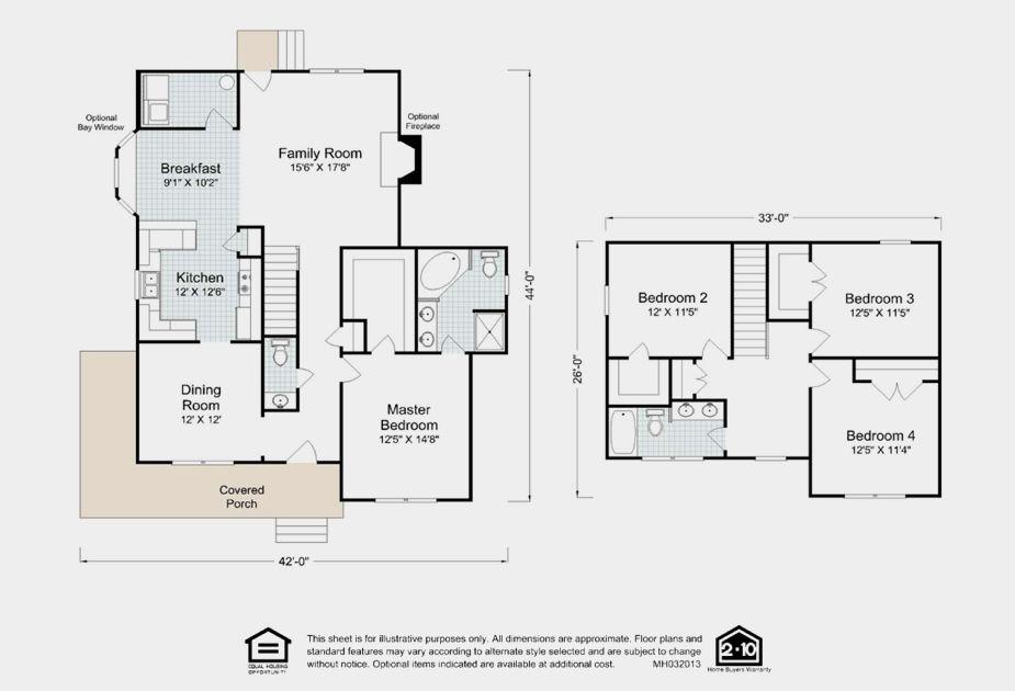 The Antoinette floor plan design from Madison Homebuilders – Madison Home Builders Floor Plans