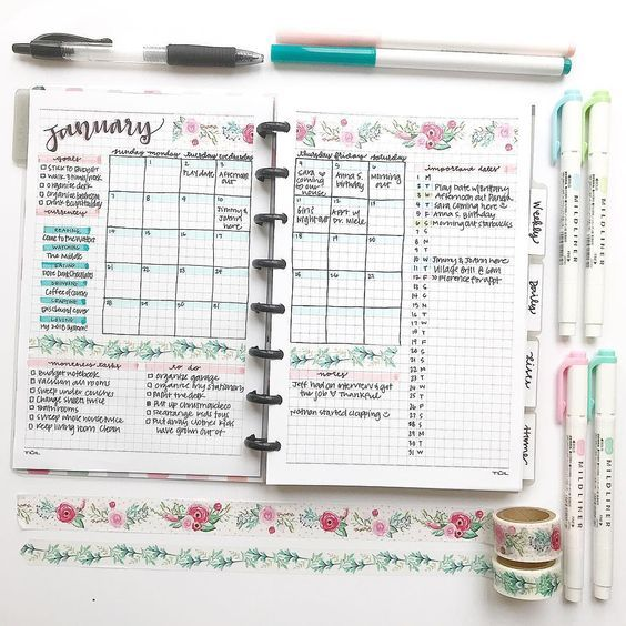 Been searching for bullet journal page ideas?