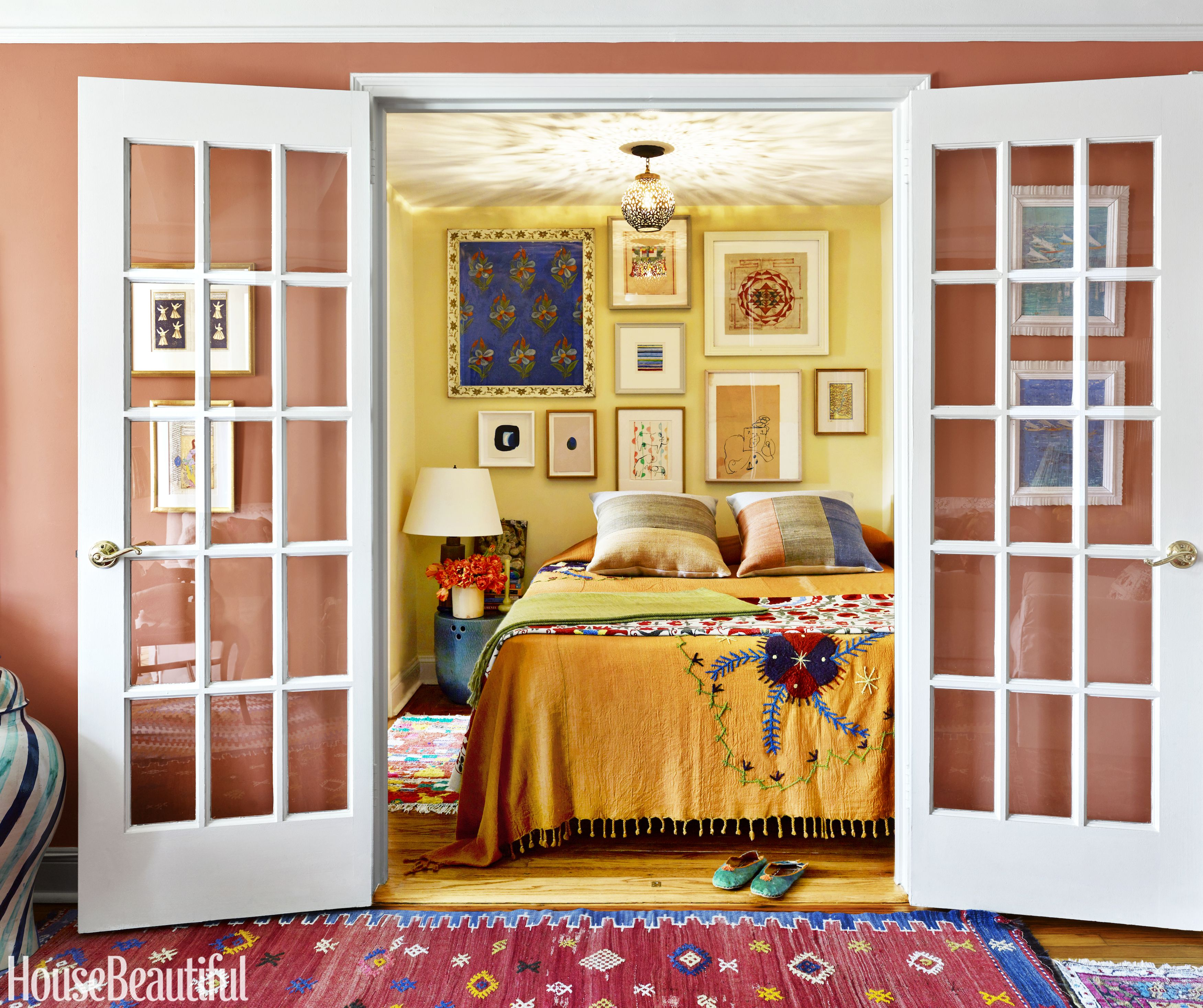40 Bedroom Colors That Will Make You Wake Up Happier | Pinterest ...